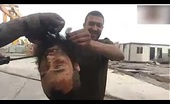 Iraqi Soldiers playing with ISIS decapitate head