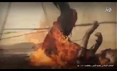 ISIS burns Alive four Shia Spies