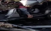 Horrible Crash Crash Aftermath
