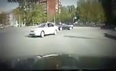 Brutal road brawl in Russia