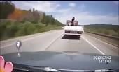 High Speed Rollover Crash