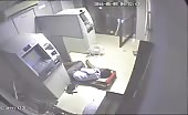 Live murder of ATM machine Guard