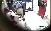 CCTV footage of Live murder in ATM