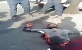 Body ripped into Two Parts but Guy still alive