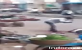 Brutal live murder in India caught on camera