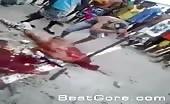 Rival prisoner slashed and chopped in Brazilian Prison