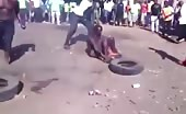 Execution of a Thief in Africa