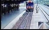 Thai woman train suicide