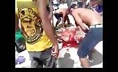 Brazilian prisoners eliminating their rival