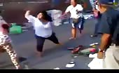 Colombian Women Knife Fight
