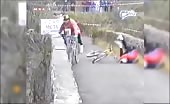 Cheating Cyclist receives reward