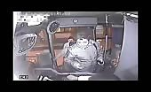 Bus robber instant karma
