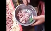 China People Eating Baby Rats Alive