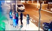CCTV Murder On Street By Gunfire