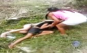 Bitches Fight In Village