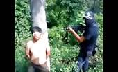 Mexican Drug Mafia Executing Prisoner