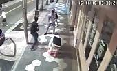 Fight Followed By Car Crash