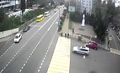 Shocking Motorcycle Accident In Russia