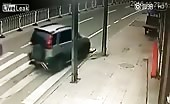 Boy Gets Hit With Car And Run Over Twice