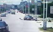 Brutal Bikers Accident