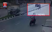 Man Dives Under Wheels To Commit Suicide