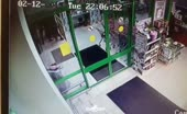 Russian agent beats criminal's rear end