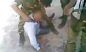 (repost) syrian system fighters torment elderly person