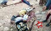 Niggas shot dead in africa