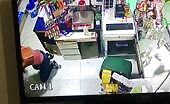 Pretty young lady assaulted at work by ex