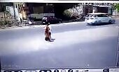 (repost) couple passed on after gets runover by speeding vehicle when crossing thestreet