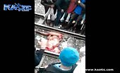 Man Who Tried To Cross The Railway Tracks