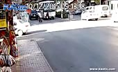 Old Woman Killed When She Walks In Front Of A Bus