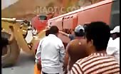 Overturned Bus Crushed Passengers