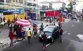 Mexican Huge Street Brawl