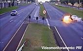 Brutal Motorcycle Impact