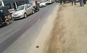 Indian Woman Crushed Under The Truck