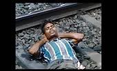 Suicide Attempt On Railway Line