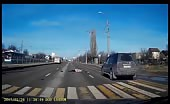 Brutal Accident Of Elderly Pedestrian