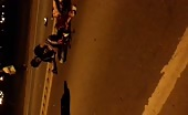 Motorcyclist Couple Hit With Truck