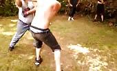 Brutal Backyard Knock Out