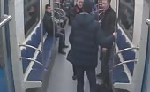 Passenger Shot In Face On Russian Subway