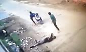 Murder Caught In CCTV