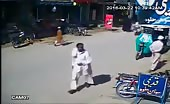 CCTV Footage Of Target Killing