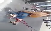 Dreadful Motorcyclist Accident
