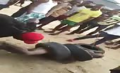Angry Mob Lynch Robber in Nigeria