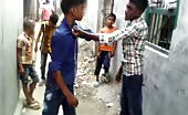 Indian Boys Street Fight