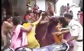 Indian Transvestites Naked Fighting In Public
