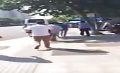 A Man Kills Girl In The Street In Front Of Pedestrians!