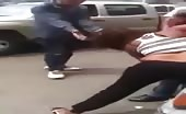 Lebanese Woman Harasses Man On Street