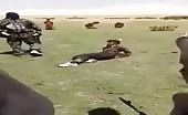 Field Execution Of A Group Of Civilians By Isis